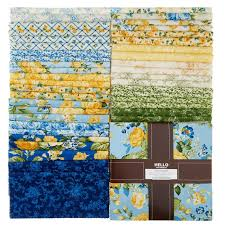 gardens ten squares robert kaufman fabrics robert