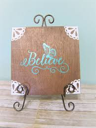 believe home decor believe home decor wooden panel home living etsy made with