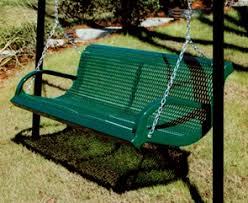Commercial Grade Park Benches Park And Patio Bench Swing Thermoplastic Coated Park Benches