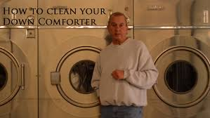 How To Dry A Down Comforter How To Launder Or Clean A Down Comforter Www Verolinens Com Youtube