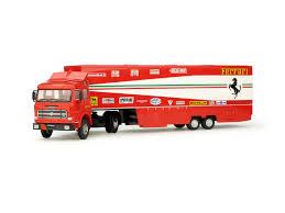 ferrari truck race transporter set 01 fiat 170 scuderia ferrari monaco 1981