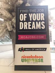 employment opportunities at moa mall of america