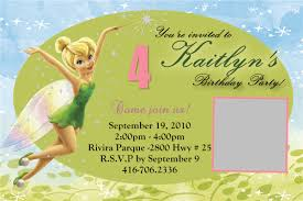 My Birthday Invitation Card Tinkerbell Invitation Cards For Birthdays Festival Tech Com