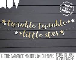 twinkle twinkle decorations twinkle twinkle banner with gender reveal