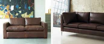 Leather Sofas  Couches Sofa Workshop - Sofa in leather
