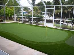 Putting Green In Backyard by Sarasota Florida Golf Putting Greens With Easyturf Artificial