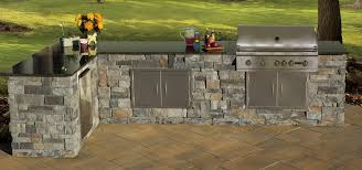 outdoor kitchen furniture cambridge pavingstones cambridge outdoor kitchen kit