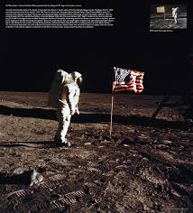 Moon Flag From Earth Apollo 11 Space Portal Mtv Man On Moon Us American Flag Iconic Pop
