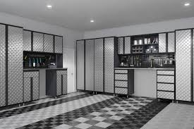 garage storage ideas plus man caves every inch this garage screams masculinity with its running theme diesel black