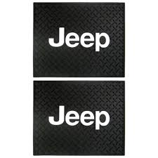 jeep logo black amazon com jeep logo car truck suv front u0026 rear seat rubber floor