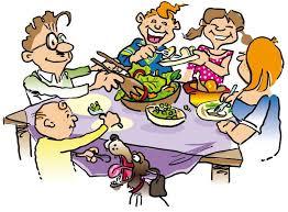 thanksgiving dinner clip clipartfest clipartix