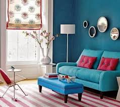Modern Wall Decals For Living Room Ideas  Liberty Interior - Red and blue living room decor