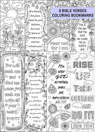 8 bible verse coloring bookmarks bookmark template bookmarks