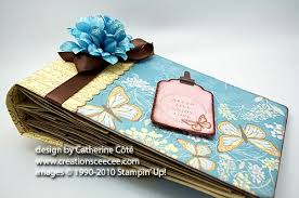 handmade photo album ceecee s creations sweet pea mini album in the
