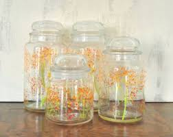 glass kitchen storage canisters 208 best kitchen canisters images on kitchen canisters