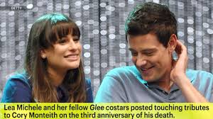 lea michele reveals finn tattoo to honor cory monteith
