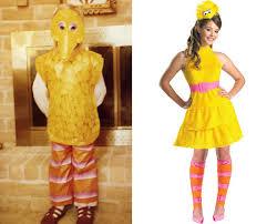 Bird Halloween Costume Big Bird Halloween Costume Troubling Evolution