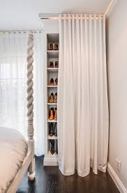 Closet Curtain Closet Curtains Transitional Bedroom 30 Collins