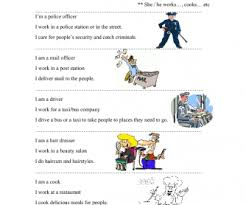 jobs and professions busyteacher free printable worksheets for