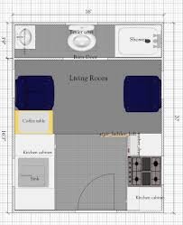 free tiny house floor plan 16 u0027 x 20 u0027 tiny house plan with loft