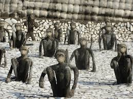 public art nek chand creator of the rock garden of chandigarh