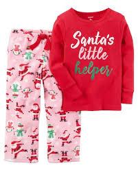 s 2 santa s helper printed top with pink