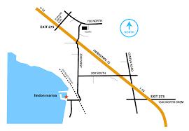 Layton Utah Map by Lindon Marina