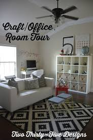 Craft Room Office - craft room office tour two thirty five designs