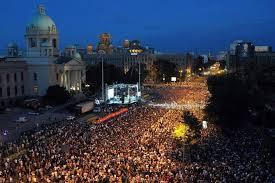 Djokovic celebra en Belgrado