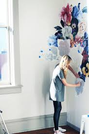 Removing Wall Stickers Best 25 Flower Wall Decals Ideas On Pinterest Wall Vintage