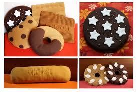cuscino pan di stelle cuscino biscotto la casa delle idee