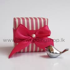 wedding cake boxes pink stripes wedding cake box