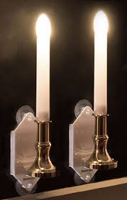 Window Candle Lights Windows Electric Candles For Windows Decor Christmas Window Also
