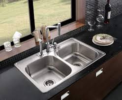 top mount stainless steel sink brilliant top mount kitchen sinks kitchen the gather house top