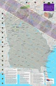 Augusta Ga Map Georgia Eclipse U2014 Total Solar Eclipse Of Aug 21 2017