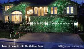 christmas laser christmas waterproof laser landscape lighting for outdoor sky