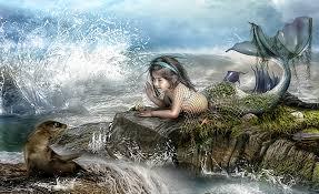 mermaid wallpapers desktop wallpapersafari