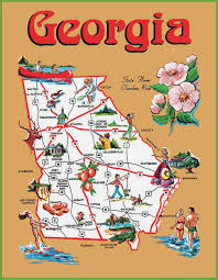 Georgia how to travel the world images Map of georgia usa map of georgia usa map of georgia usa and jpg