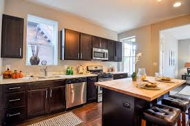 diy espresso kitchen cabinets remodeled kitchen espresso cabinets and marble counter tops