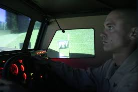 tactical vehicle simulator brings driving practice into new age