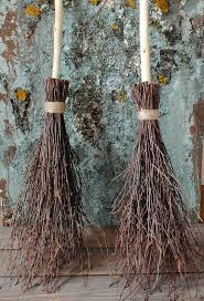 Witch Home Decor Witches Broom Birch Branches Rustic Home Decor Rustic Wedding