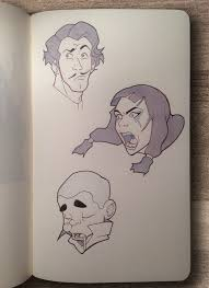 legend of korra expressions by calebhunt on deviantart