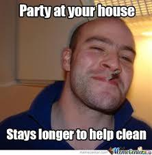 Birthday Party Memes - good guy greg invited birthday party present memes best