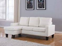 Small Spaces Configurable Sectional Sofa by Modern Reversible Small Space Configurable Bonded Leather
