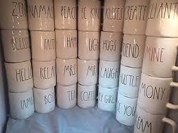 rae dunn mug rae dunn mug large letter choose your wording combine shipping