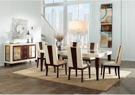 zeno 8 piece dining package the brick
