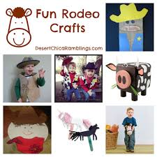 rodeo crafts for kids