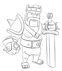 barbarian king coloring page free printable coloring pages