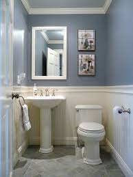 astounding traditional half bath decor also royal blue wall paint