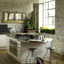 wall for kitchen ideas brick wall in kitchen kitchen design with brick wall ideas brick